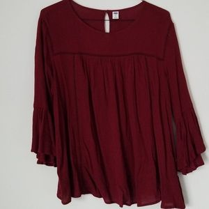 Old Navy Flowy Top - XL